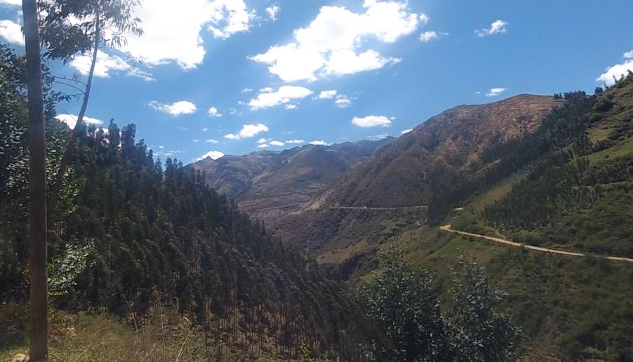 Central Peru (to Huaraz from Cajamarca)